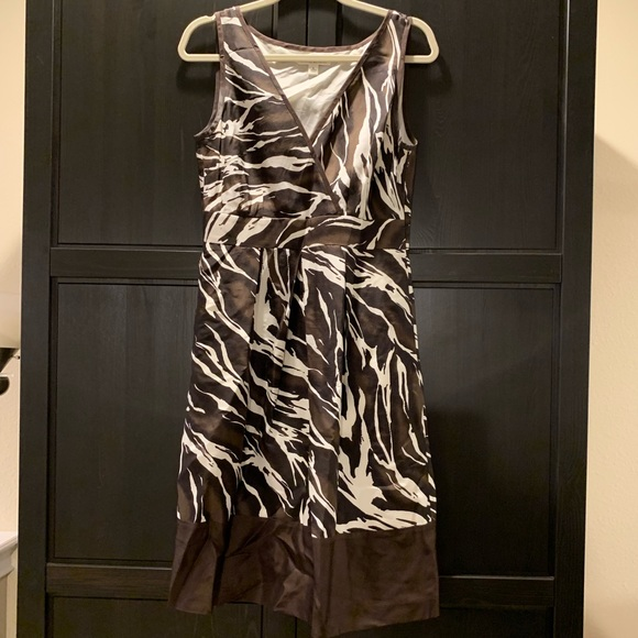 Banana Republic Dresses & Skirts - ONLY WORN ONCE Banana Republic silk party dress!
